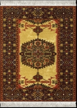, Muismat tapijt ivory-gold feraghan