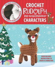 Galusz, Kati Crochet Rudolph the Red-Nosed Reindeer Characters