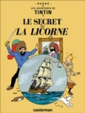 Herge La Secret de La Licorne = Secret of the Unicorn