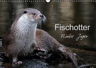 R. Bogner, J. Fischotter, flinke J?ger (Wandkalender 2017 DIN A3 quer)