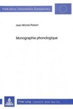 Robert, Jean-Michel Monographie phonologique