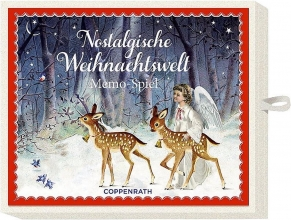 , Memospel met kerstprint