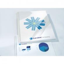 , Voorblad GBC A4 PVC 150micron transparant 100stuks