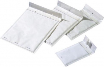 , Envelop Jiffy luchtkussen nr15 242x275mm wit 100stuks