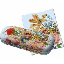 B158a , Brillenkoker merian tulpen/rozen