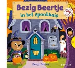 Benji Davies , Bezig Beertje In het spookhuis