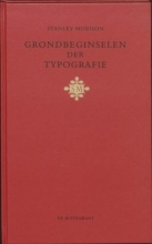 S. Morison , Grondbeginselen der typografie