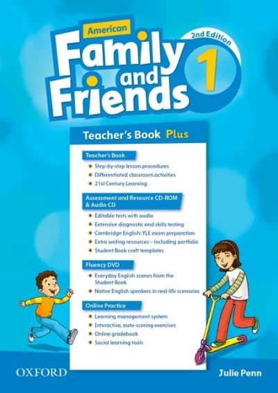 Simmons, Naomi,   Thompson, Tamzin,   Quintana, Jenny,American Family and Friends 1. Teacher`s Book Plus