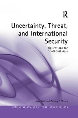 Ivan Savic,   Zachary C. Shirkey,Uncertainty, Threat, and International Security