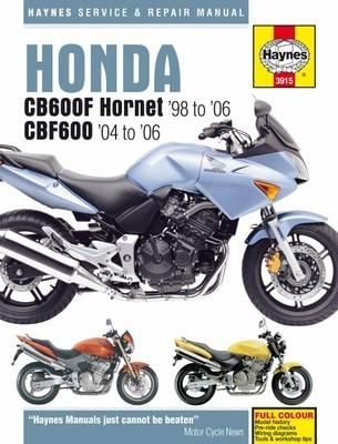 Haynes Publishing,Honda CB600F Hornet