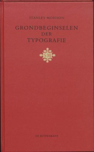 S. Morison,Grondbeginselen der typografie