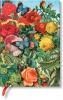 ,<b>Paperblanks notitieboek midi  butterfly garden blanco</b>