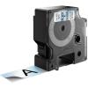 , Labeltape Dymo 53710 D1 720920 24mmx7m zwart op transparant