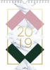 ,<b>Weekkalender spiraal 2019 monmon</b>