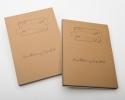 ,<b>Oefenboek handlettering a4 div kleuren papier</b>