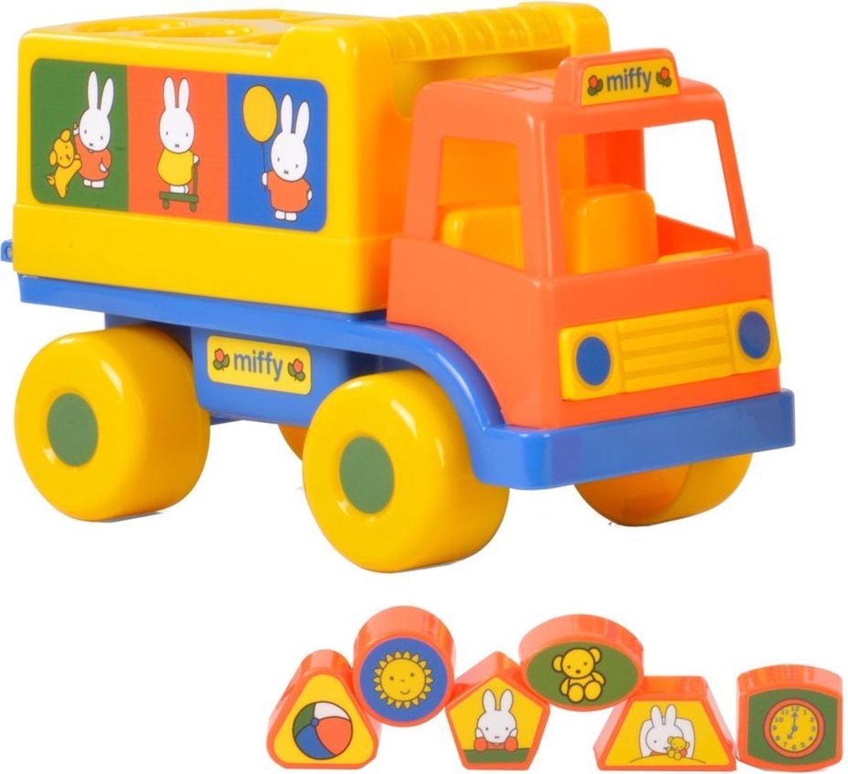 Vdm-2000153,Nijntje vormen truck