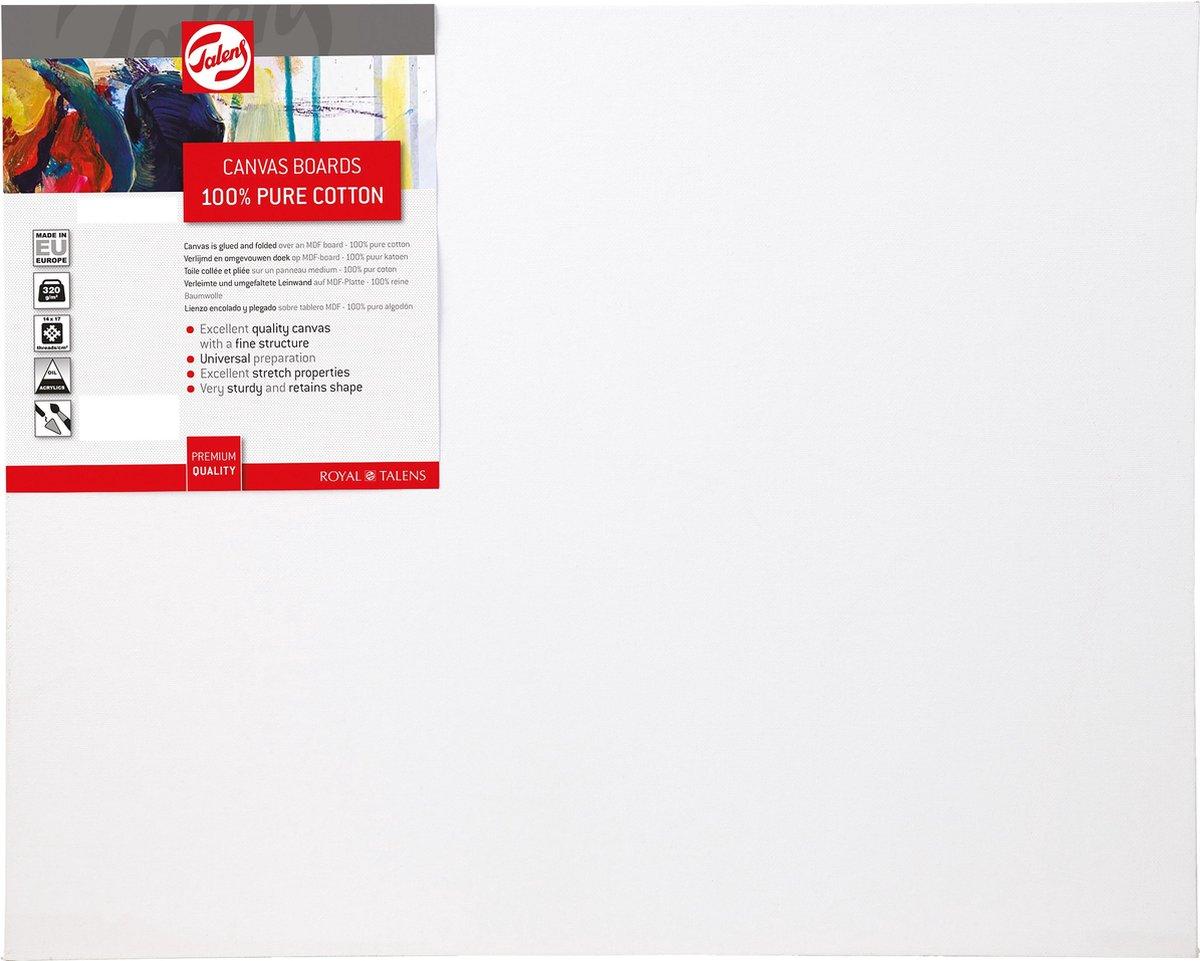 ,Talens canvas board 24 x 30 cm.