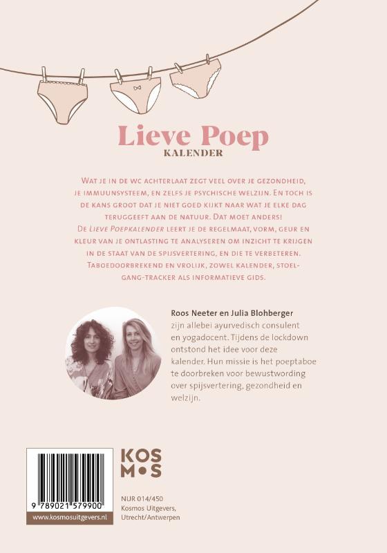 Roos Neeter, Julia Blohberger,Lieve poep kalender