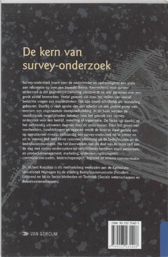 H. Korzilius,De kern van survey-onderzoek