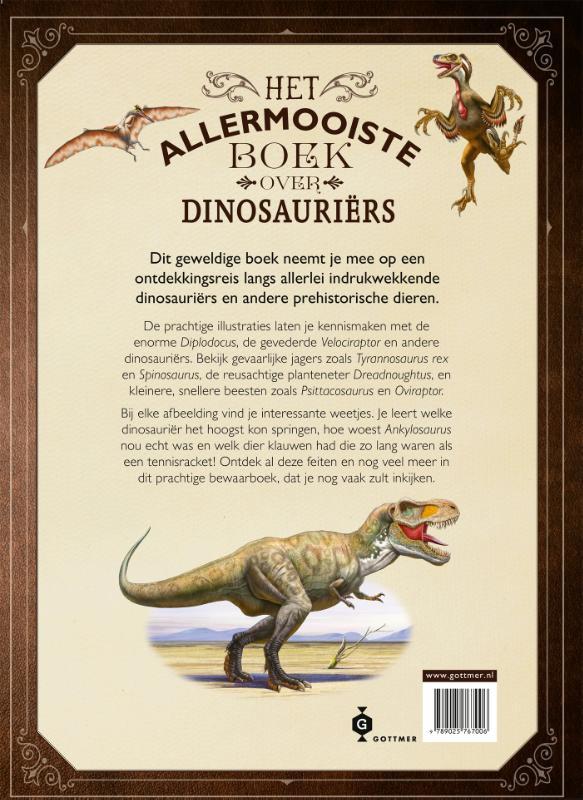 Tom Jackson,Het allermooiste boek over dinosauriërs