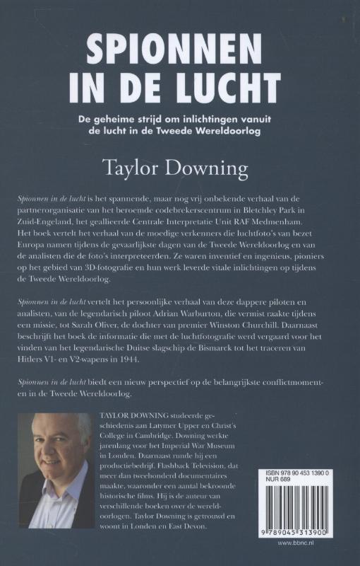 Taylor Downing,Spionnen in de lucht