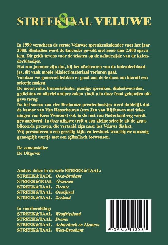 M. Beker-Schuite, Jan van Rijthoven,Streek & Taal Veluwe