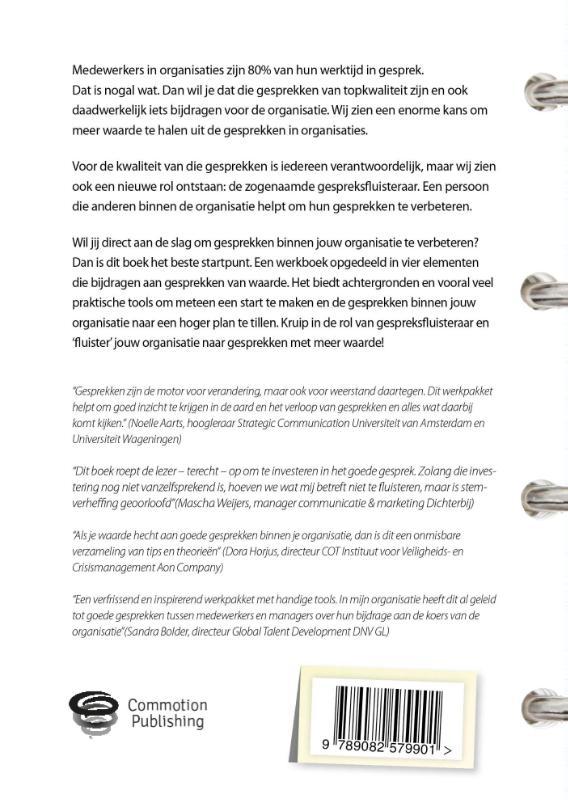 Ilse van Ravenstein, Ameike van der Ven, Mark van Vuuren,De gespreksfluisteraar