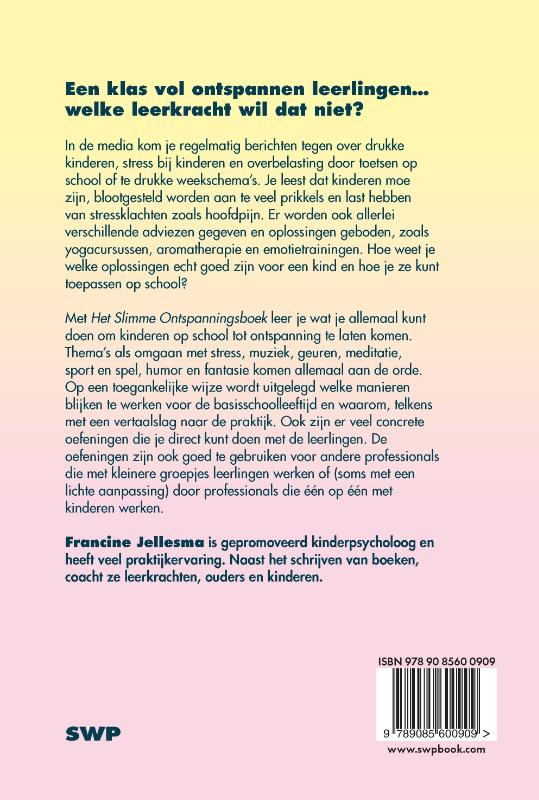 Francine Jellesma,Het slimme ontspanningsboek