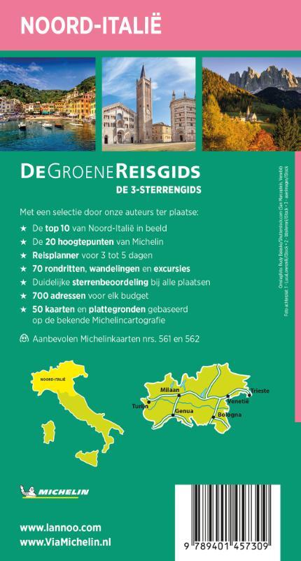 ,De Groene Reisgids - Noord-Italië