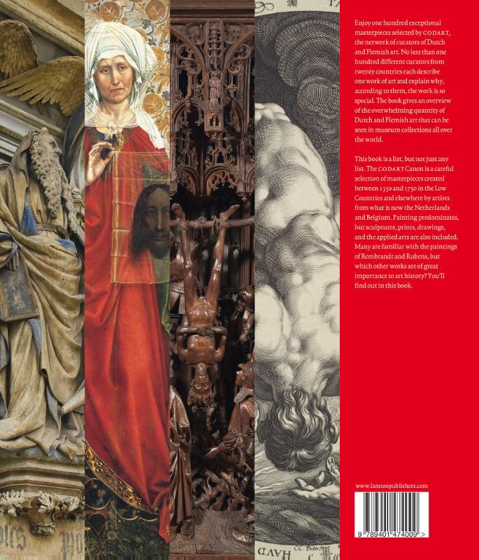 Codart,100 Masterpieces Dutch and Flemish art (1350-1750)