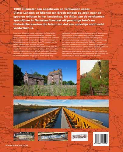 ,Atlas van de verdwenen spoorlijnen in Nederland