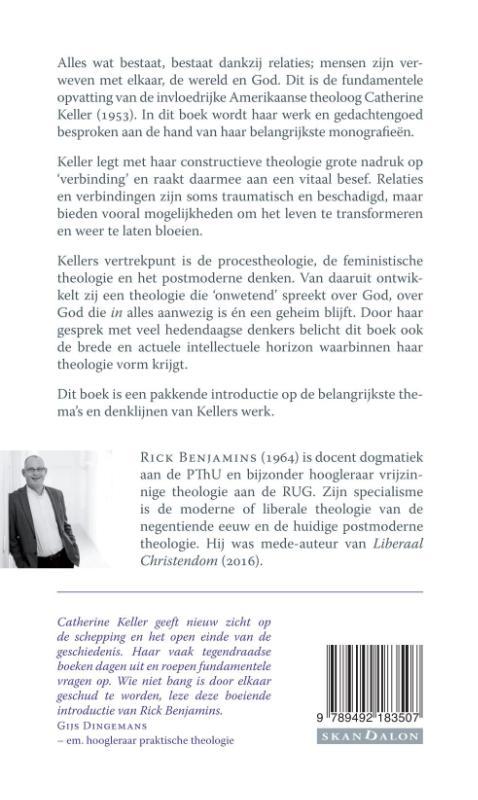 Rick Benjamins,Catherine Keller's constructieve theologie