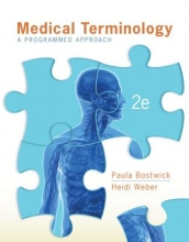Bostwick, Paula Medical Terminology with Connect Plus Access Code