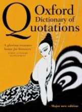 Knowles, Elizabeth Oxford Dictionary of Quotations