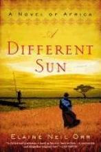 Orr, Elaine Neil A Different Sun