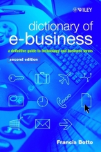 Botto, Francis Dictionary of e-Business