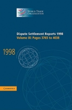 Wto Dispute Settlement Reports 1998