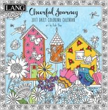 Cal 2017 Cheerful Journey 2017 Box Calendar (Coloring)
