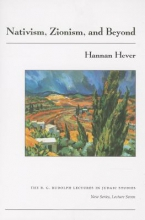 Hever, Hannan Nativism, Zionism, and Beyond