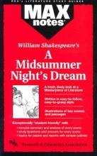 Rae, Gail Midsummer Night`s Dream, a (Maxnotes Literature Guides)