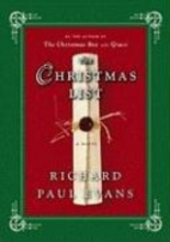 Evans, Richard Paul The Christmas List
