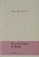Ausländer, Rose Gedichte
