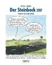 Der Steinbock 2017. Sternzeichen-Cartoonkalender