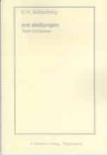 Bottenberg, Ernst Heinrich ent.stellungen