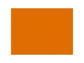 , fotokarton Folia 50x70cm 300gr pak a 25 vel oranje