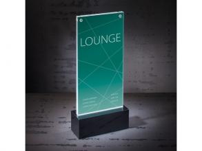 , Tafelstandaard Sigel LED verlicht DL 116x255x45