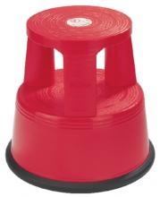 , Opstapkruk Desq 42cm kunststof rood