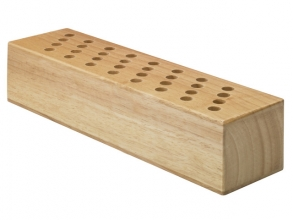 , scharenblok Westcott hout leeg voor 32 scharen