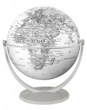 , Globe 15 cm pol. grijs draai & kantel