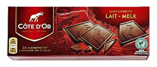 , Chocolade Cote d`Or mignonnette melk 24x10gr